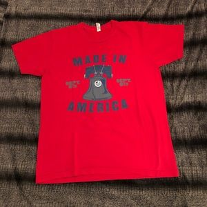 EUC Made In America 2015 Concert T-shirt Size L